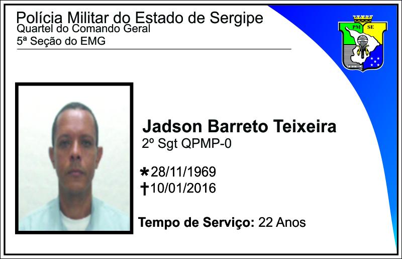 [Sgt Jadson]HOMENAGEM PÓSTUMA