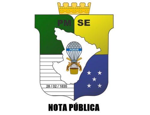 NOTA DE ESCLARECIMENTO – Polícia Militar do Estado de Sergipe
