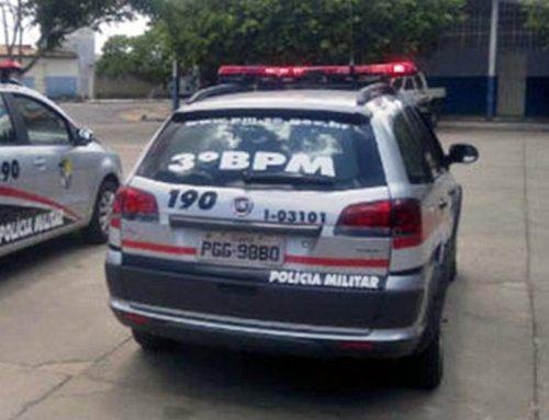 PM efetua prisão em flagrante por Direção Perigosa em Itabaiana