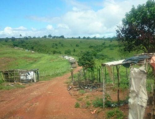 PM garante desocupação voluntária de propriedade rural em Arauá