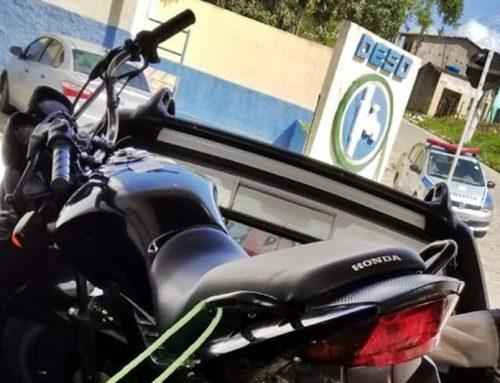 Polícia Militar localiza e recupera motocicleta roubada em Lagarto