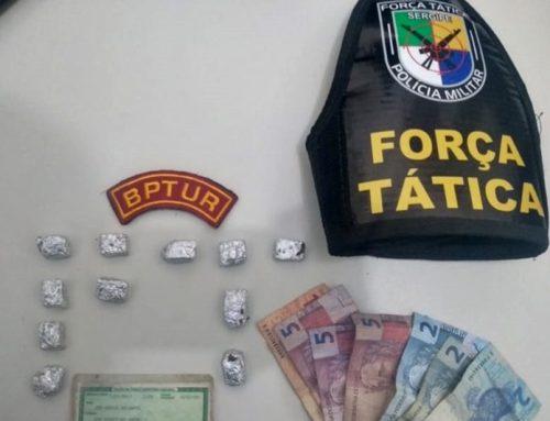 PM prende dois homens por tráfico de drogas na Zona de Expansão de Aracaju