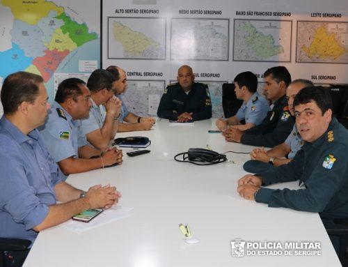 Reunião do alto comando da PM define estratégias de melhorias para a tropa