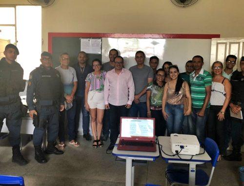 PM e Diretoria Regional de Educação debatem sobre segurança nas escolas de Tobias Barreto e Poço Verde