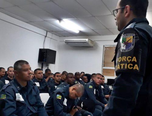 Policiais militares da Força Tática do 1º BPM participam de curso de capacitação