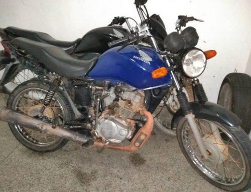 PM recupera duas motocicletas roubadas no estacionamento de uma festa em Indiaroba