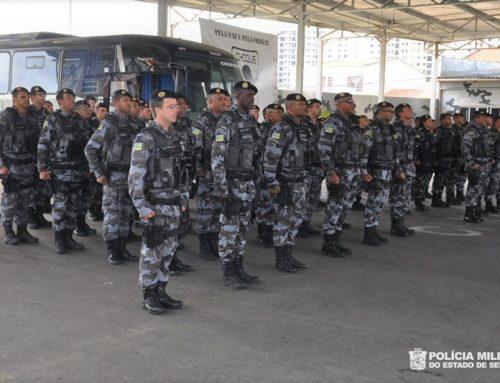 Batalhão de Choque promove solenidade de encerramento do Estágio de Aplicações Táticas