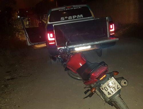 PM recupera motocicleta roubada em Socorro