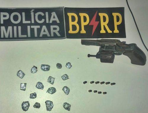 PM apreende drogas e arma de fogo após confronto no Bairro Lamarão