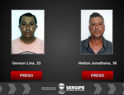 Operação conjunta prende dois suspeitos de aplicar golpes contra idosos em Nossa Senhora de Lourdes