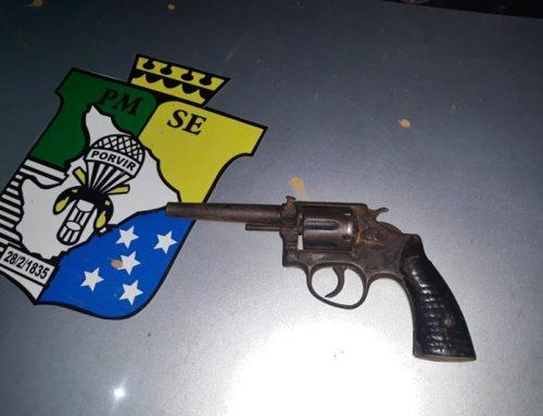 Polícia Militar apreende arma de fogo em Frei Paulo