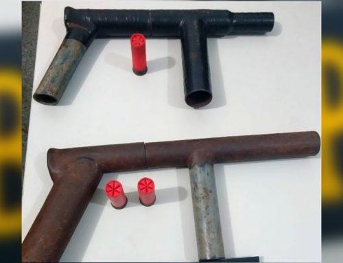 PM apreende armas de fabricação caseira em Nossa Senhora do Socorro