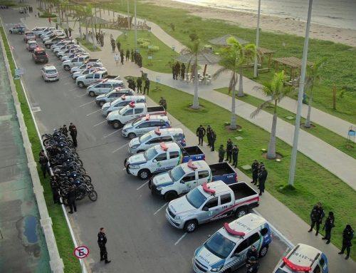 A Polícia Militar desencadeou em todo o estado de Sergipe a Operação Tiradentes
