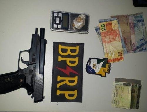 Polícia Militar prende suspeita de tráfico de drogas no Bairro América