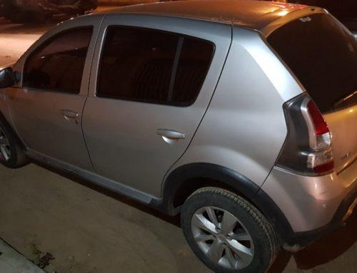 PM recupera veículo roubado em Aracaju