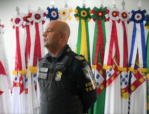Confira as palavras do comandante-geral, coronel Marcony Cabral, durante a solenidade de promoção por Ato de Bravura