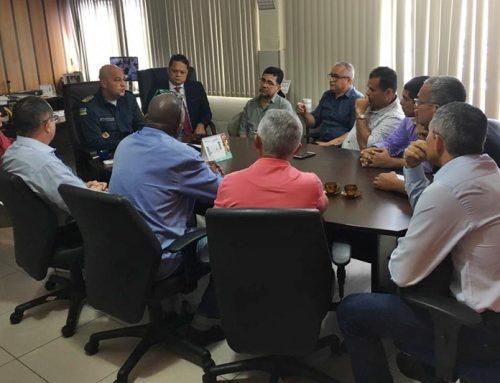 Comandante-geral reuniu-se com representantes das associações de policiais militares da reserva