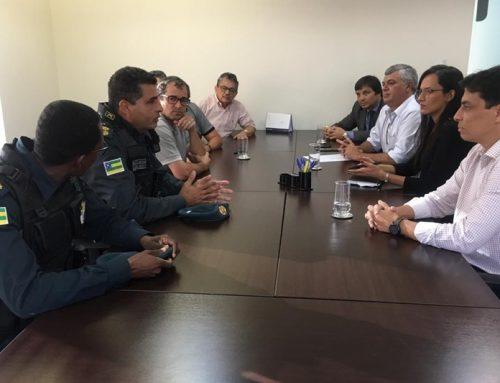 PM se reúne com os representantes das empresas de ônibus em Aracaju