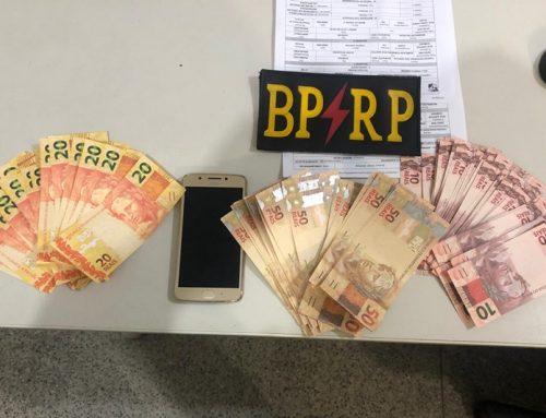 BPRp prende dois homens com cédulas falsas no Bairro Porto Dantas