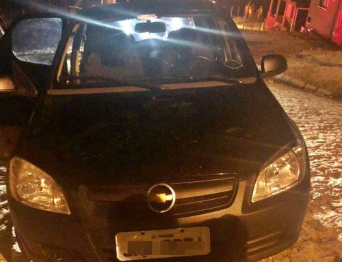 Equipe do 9º Batalhão prende infrator armado e recupera carro roubado na cidade de Pirambu