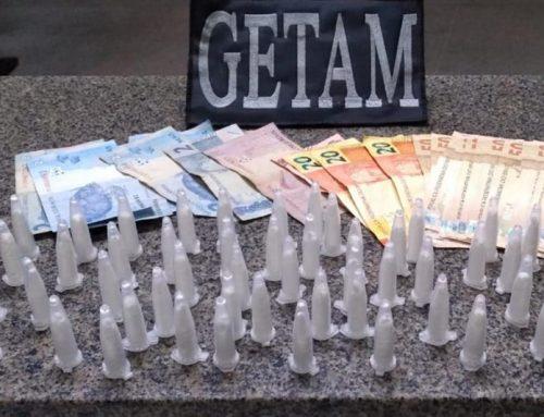 3º BPM prende casal suspeito de tráfico de drogas em Itabaiana